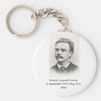 Antonin Leopold Dvorak 1868 Keychain