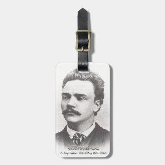 Antonin Leopold Dvorak 1868 Luggage Tag