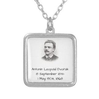 Antonin Leopold Dvorak 1868 Silver Plated Necklace