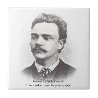 Antonin Leopold Dvorak 1868 Tile