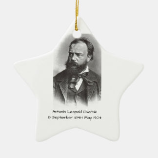 Antonin Leopold Dvorak Ceramic Ornament