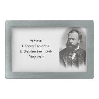 Antonin Leopold Dvorak Rectangular Belt Buckle