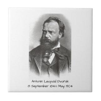 Antonin Leopold Dvorak Tile