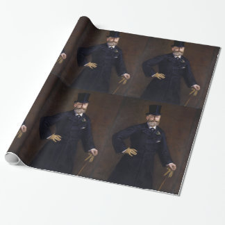 Antonin Proust by Edouard Manet Wrapping Paper
