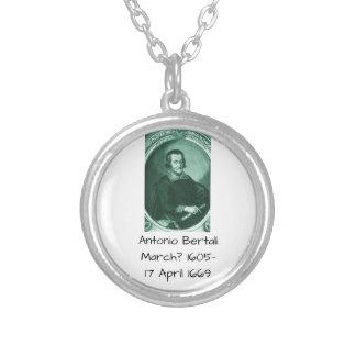 Antonio bertali silver plated necklace