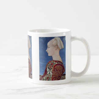 "Antonio del Pollaiuolo, ""Portrait of a YoungLady"" Coffee Mug"