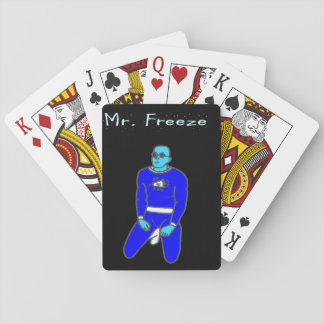 Antonio Freeze Playing Cards