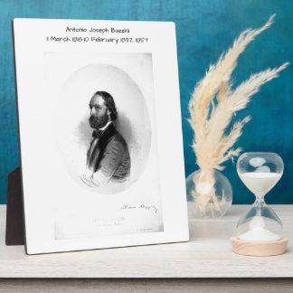 Antonio Joseph Bazzini 1857 Plaque