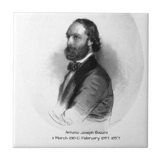 Antonio Joseph Bazzini 1857 Tile