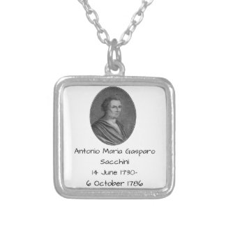 Antonio Maria Gasparo Sacchini Silver Plated Necklace