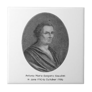 Antonio Maria Gasparo Sacchini Tile