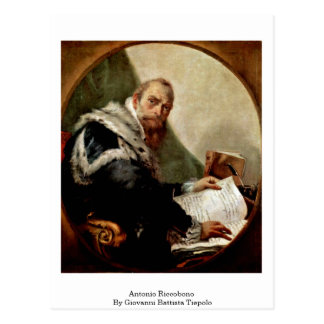 Antonio Riccobono By Giovanni Battista Tiepolo Postcard