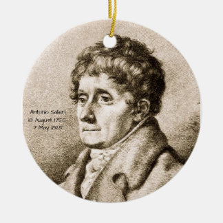 Antonio Salieri Ceramic Ornament