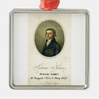 Antonio Salieri Metal Ornament