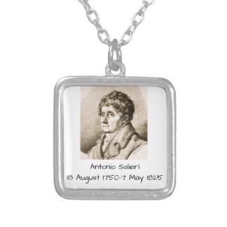Antonio Salieri Silver Plated Necklace