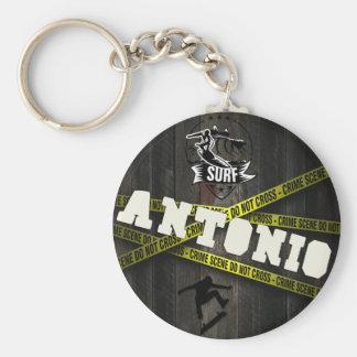 ANTONIO - Skater Style Keychain
