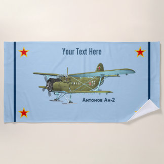 Antonov An-2 Beach Towel
