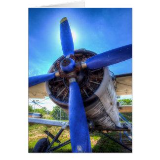 Antonov AN-2 Biplane Card