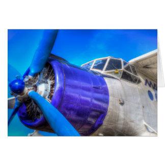 Antonov AN-2 Vintage Biplane Card