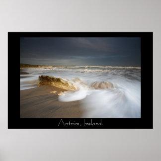 Antrim Coast Poster