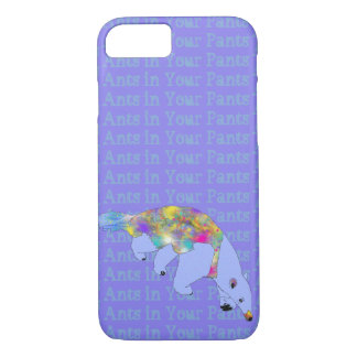 Ants in Your Pants Purple Anteater Animal Art iPhone 8/7 Case