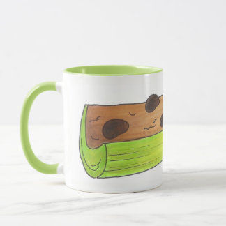 Ants on a Log Celery Raisins Peanut Butter Picnic Mug