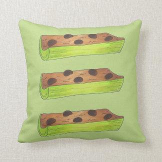 Ants on a Log Peanut Butter + Celery Pillow