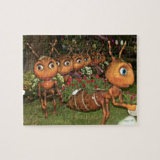 Ants on a Mission Jigsaw Puzzle