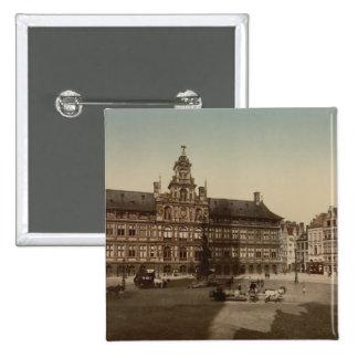 Antwerp Town Hall Antwerp Belgium Pin