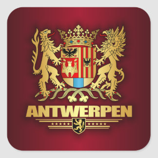 Antwerpen Square Sticker