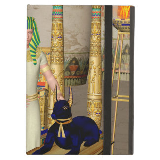 Anubis, ancient Egyptian god of the dead rituals Cover For iPad Air