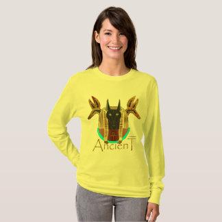 Anubis Ancient Ladies Long Sleeve Shirt
