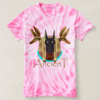 Anubis Ancient Ladies Tie-Dye T-Shirt