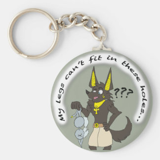 Anubis Obtained a Bra Keychain