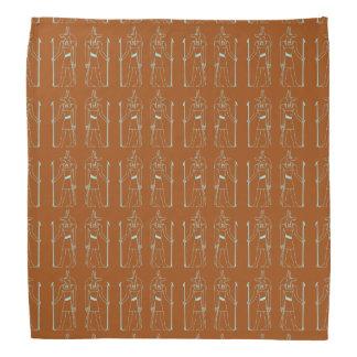 Anubis Pattern Egyptian God Bandana