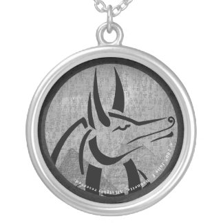Anubis Round Necklace