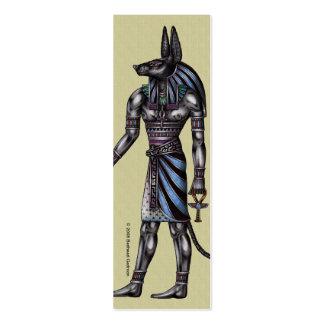 Anubis Skinny Profile Card Mini Business Card