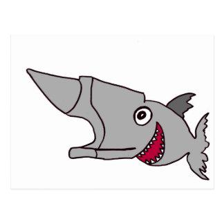 Anvilhead Fish Postcard