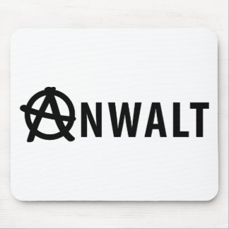 Anwalt icon mouse pad
