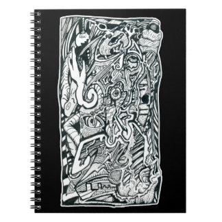 Anxiety Attack by Brian Benson Notebook