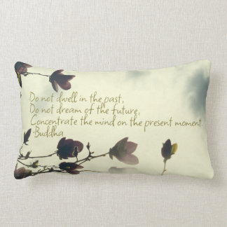 Anxiety Inspiration from the Buddha Lumbar Pillow