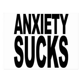 Anxiety Sucks Postcard