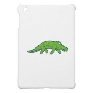 Anxious Alligator Tiptoing Retro Case For The iPad Mini