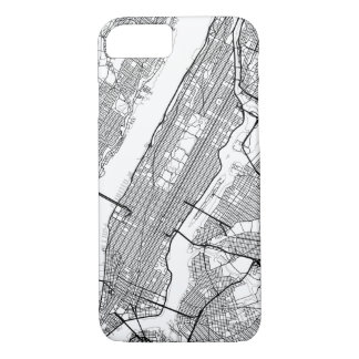 Any City Modern Map iPhone 8/7 Case