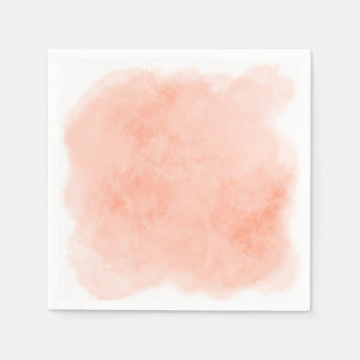 Any Color Background Watercolor Texture Disposable Napkins