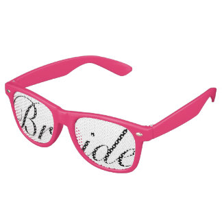 Any Color Bride Swag Party Glasses Party Shades