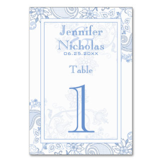 Any Color Flowers & Foliage Lacy Doodle Wedding Card