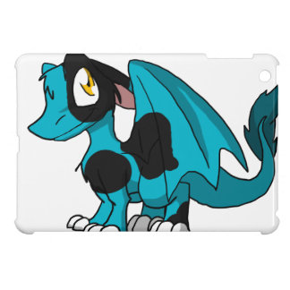 Any Color SD Furry Dragon Button w/ Cow Spots 1 Cover For The iPad Mini