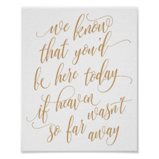ANY COLOR! Wedding Memory Sign - Luxe Calligraphy
