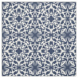 Any Colour Mediterranean Spanish Tile Pattern Fabric